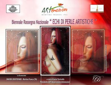 Copertina Catalogo Echi di Perle Artistiche