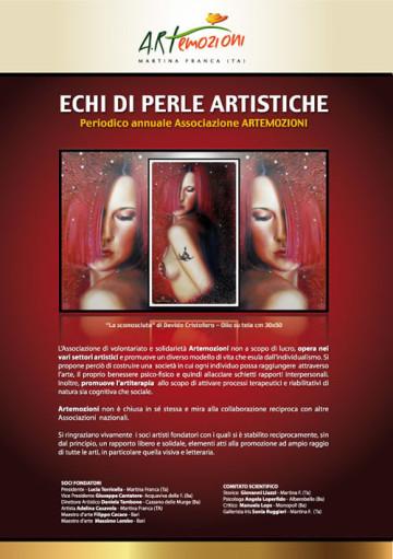 Copertina Periodico ECHI DI PERLE ARTISTICHE 2012